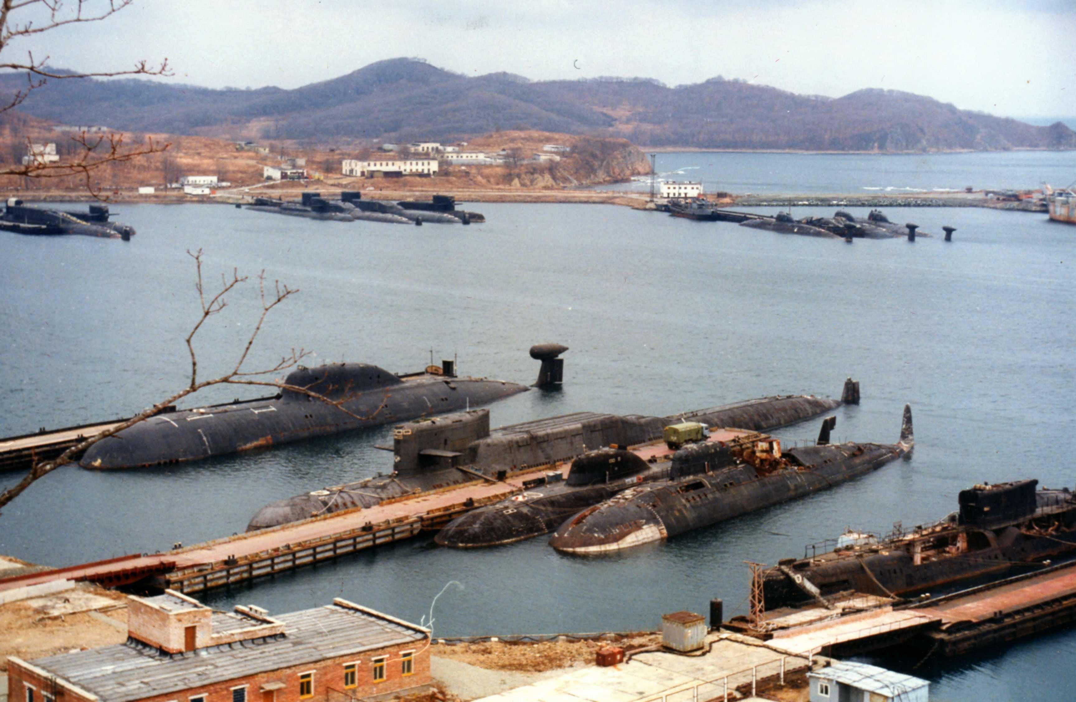 приморский край подводные лодки фото