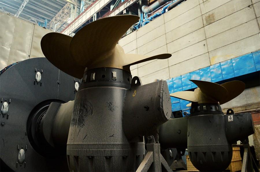 винты для подводной лодки