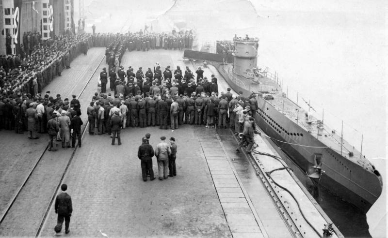 походы немецких подводных лодок в южную америку