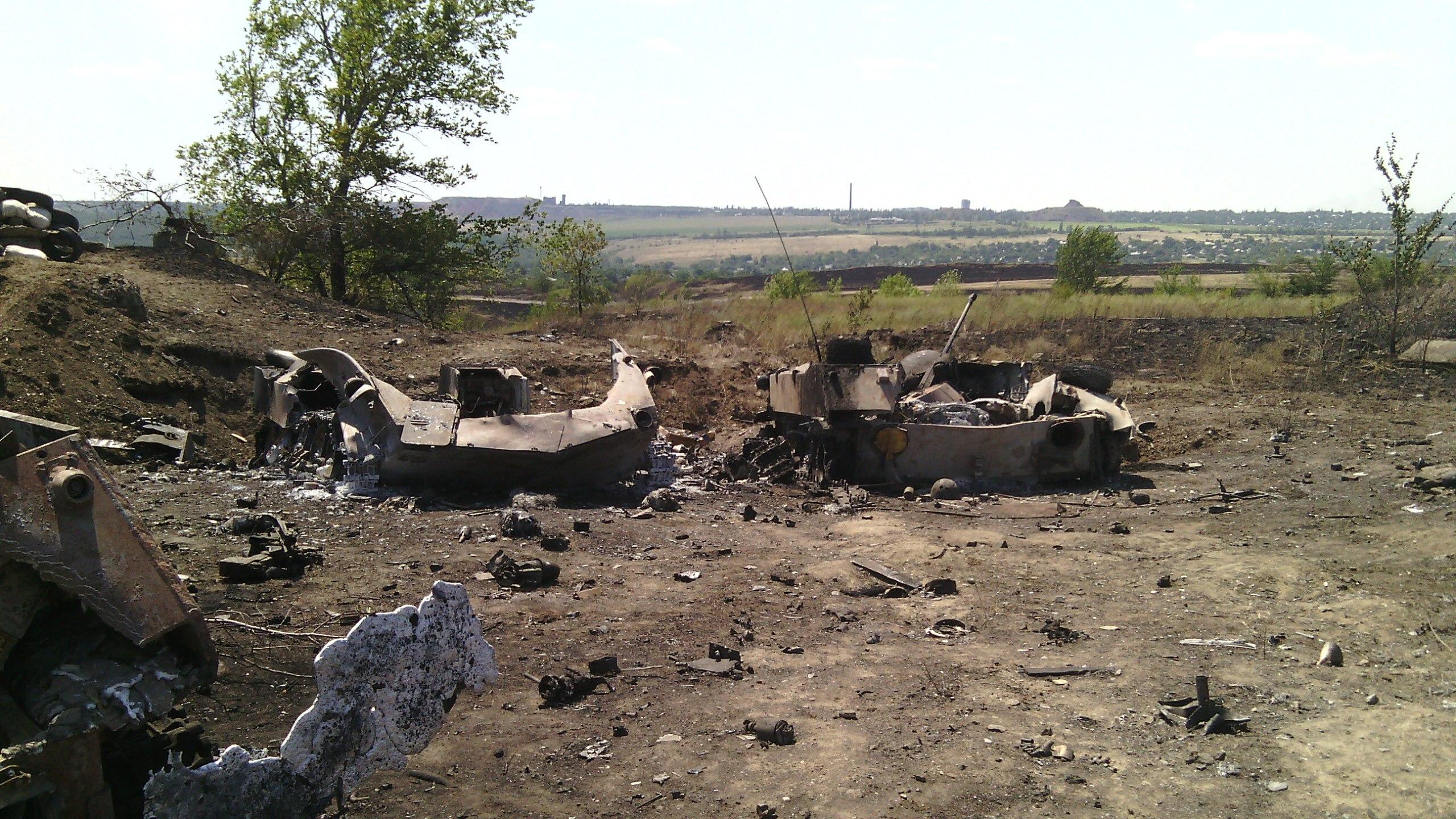 Фото разбитых авто луганск донецк 5