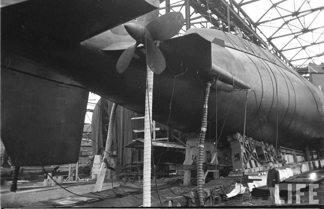 первая подводная гондола 1964