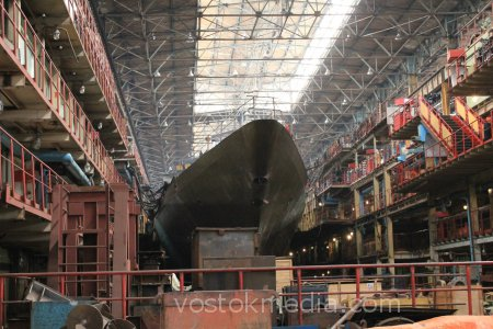 Финские судостроители заинтересованы в модернизации хабаровского судостроительного завода