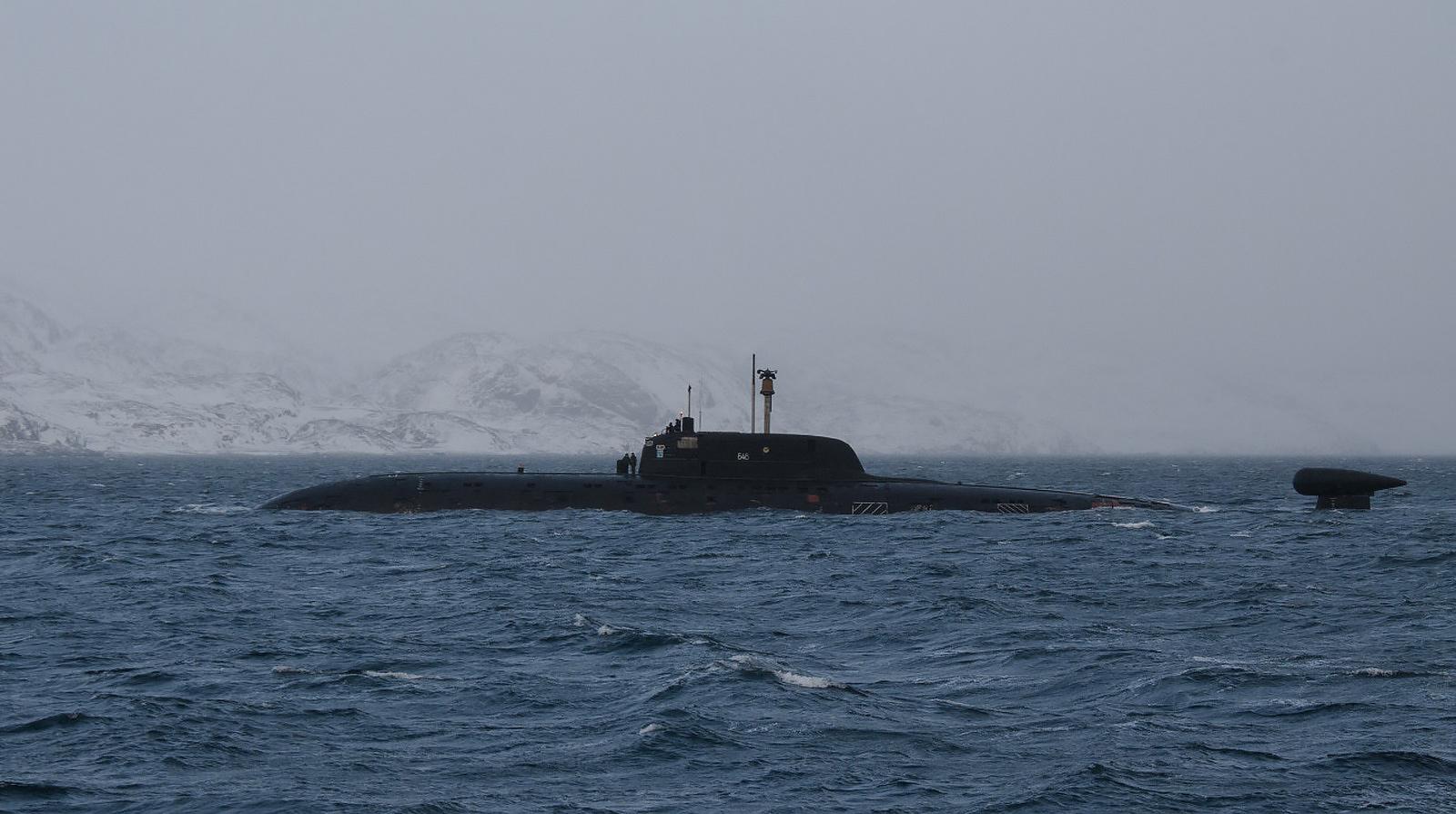 лодка проект 945а