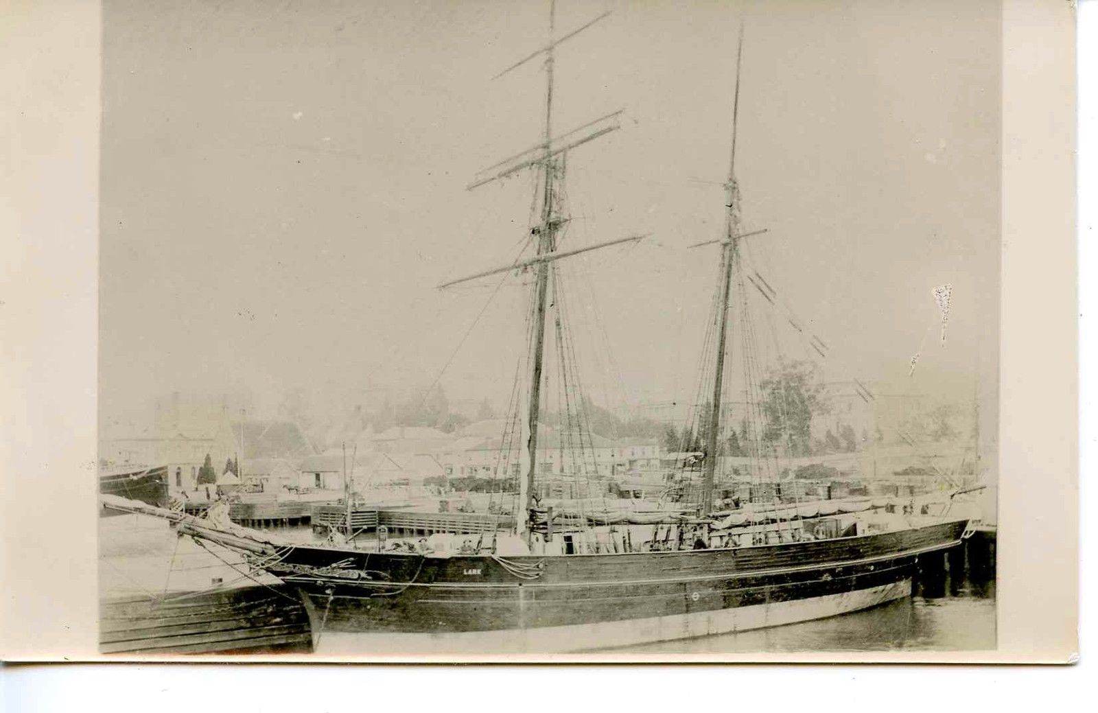 HMS LARK SURVEY VESSEL ON STATION AUSTRALIA 1880-1890s.JPG