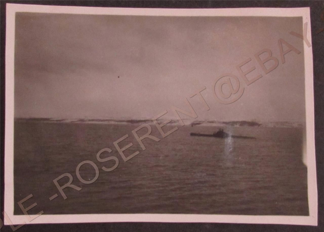 WW2 H M S Kent -a Surfaced Submarine from H M S Kent.JPG