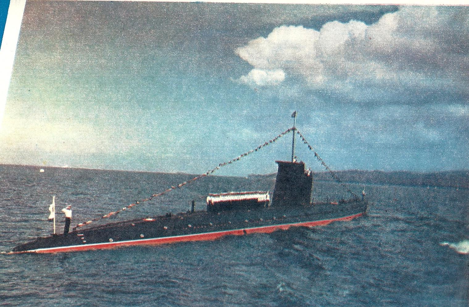 только отечественные экипажи подводных лодок
